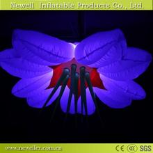 Great Quality light inflatable flower festival With low price