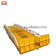 empilhadeira manual do equipamento de carregamento doca