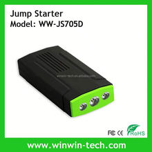 Double USB The world slimest and lightest portable jump starter with SOS pocket jump starter in automotive for USA market