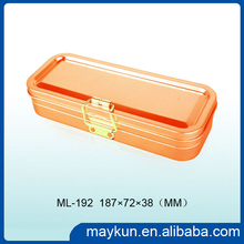 Novel style of pencil -case made of tinplate materials 187X72X38MMH