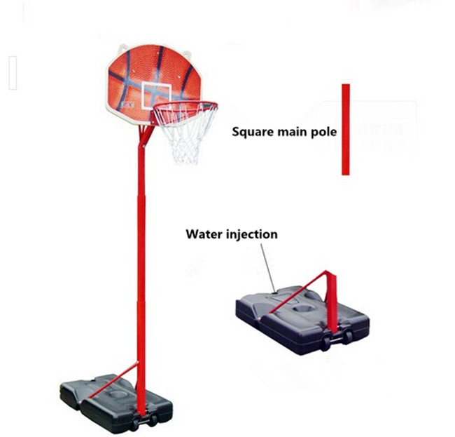 height adjustable basketball stand outdoor for kids