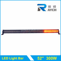 "Color led light bar with wireless remote control led light bar, RGB strobe 52"" Led light bar"
