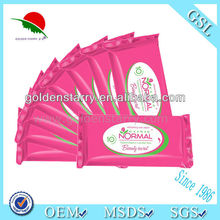 OEM ODM Without Alcohol Tender Female Wet Wipes/Tissue For Cleaning Manufacturer China
