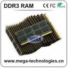 ETT chips 1 piece 1x8GB 512mb*8/16c ram memory ddr3 1600 8gb