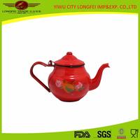 2015 new Enamel turkish Kettle /enamel tea kettle/pot