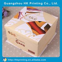 elegant customized birthday cake cardboard box