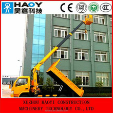10t good quality high altitude truck and lifting crane for sale