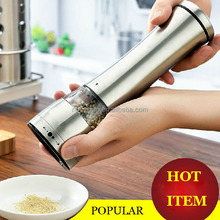factory wholesale 101541 stainless steel manual pepper grinder