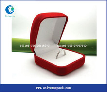 custom velvet plastic packaging box wholesale