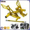 ARS-6R-05 High Quality CNC Billet Aluminum Rear Sets Motorcycle Foot Pegs for Kawasaki ZX-6R ZX-6RR ZX636 2005-2008
