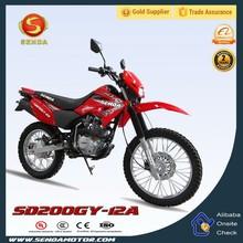 Cheap Mini 200cc Dirt Bike 200cc Pocket Bike with 4 Stroke HyperBiz SD200GY-12A