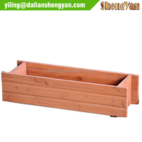 Cheap Painted Outdoor Wooden Garden Planters Wholesale