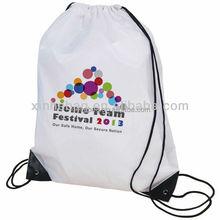 Customed nylon polyester drawstring bag