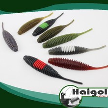 Soft plastic lure with salt, soft lure with flavour, pin type lure