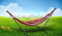 Portable outdoor and indoor hammock which can bear the weight of 200KG