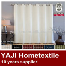 Basic Solid Grommet curtain hotel Blackout Curtains cheap window curtains