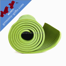 Foldable eco friendly tpe yoga mat India for sales with packing bag