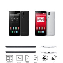 "Original OnePlus One Plus One 64GB mobile phone 4G LTE 5.5"" FHD Snapdragon801 2.5GHz 3GB RAM Android 4.4 13.0MP Camera"