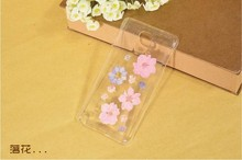 Cheap real flower cover case for samsung note4 dry pressed flower case hand make new items for samsung n91000