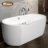 Indoor mini acrylic whirlpool bathtub free standing bath tub prices for adults