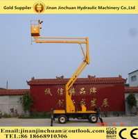 New Products Small Trailer Mounted Boom Lift Made In China