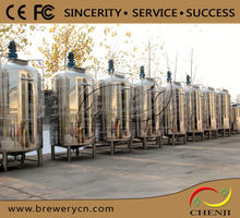 5000l stainless steel beer brewing vessel,Micro beer fermenting tanks,conical fermentor,fermentation tanks