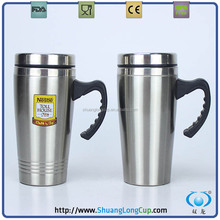 China Direct 450ml Double wall stainless steel Travel Mugs ,prmotional cups for gifts