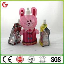 plastic container bottom gusset plastic bags liquid packing