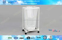 expansible scalable folding mesh laundry basket
