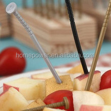 HOT!!!Unique Creative Nail style set of plastic fork