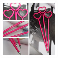 Customized heart shaped ball point pen/stationery wholesale from China