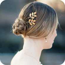 Europe and the United States, restoring ancient ways Athena olive branches leaves beautiful bride hairpin clip wholesale