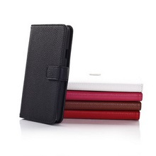 5 colors mobile hand phone housing case, wallet design leather mobile phone case for Samsung Galaxy S5