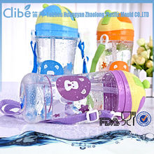 Light Foldable Bpa free sports Wholesale clear plastic soda bottles