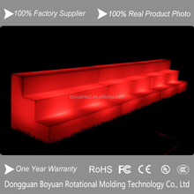 led salon furniture changing room bench/waiting room bench seating