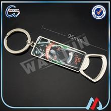 rackets bottle opener key chain promotional gift
