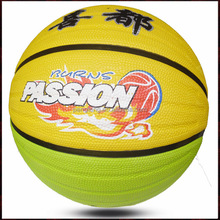 custom leather basketball size 5