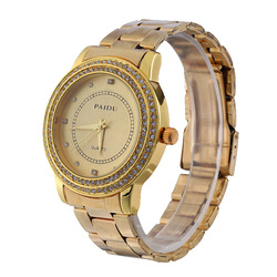 High quality gold silver japan Movement Sport and business wrist watch for Men/Gent