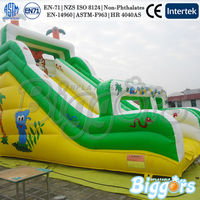 Giant Commercial Tiger Inflatable Slide