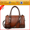 New 2016 RFID Blocking leather hand bag with shoulder strap for men and women