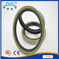Aging resistant CR NBR oil seal retainer with cheap price