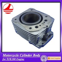 China Factory Motorcycle Engine Cylinder Block For ZongShen 200CC