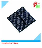 65x65 5.5V 50mA mini solar panel