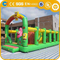 Spongebob theme inflatable castle , inflatable spongebob bouncer , bouncer inflatables