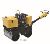 Full hydraulic water cooled self-propelled vibratory road roller hydraulic pump, vibratory roller