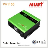 Hybrid solar powered inverter 1400W 24V /230v dc to ac 50hz inverter with PWMcontroller