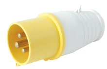 PA/PP material CE Industrial male plug With 3 Pins blue color with cable line IP44 32A 3P LX-013/ 023 Hot selling