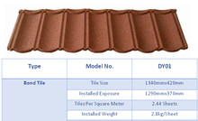 New Building Materials Sound insulation Metal Roof Tiles Steel Roofing Tile asphalt shingles