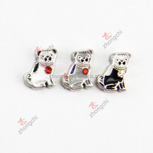 Top sale china supplier dog floating charms for living locket