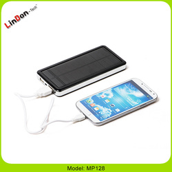 12800mAh Capacity Emergency Solar Charger for Cell Phone/Laptop/MP3/MP4 Players MP128